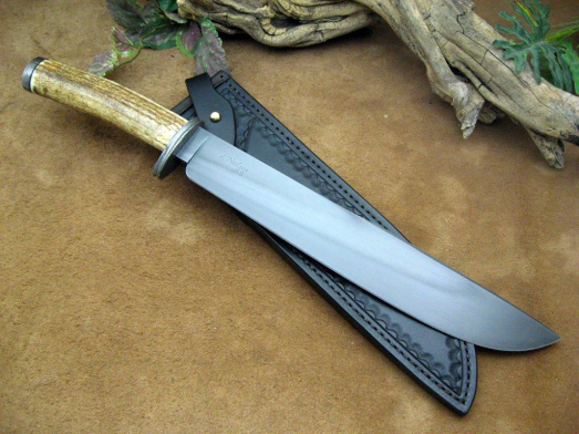 elk field bush knife