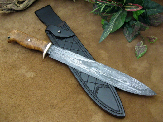 fancy bush knife