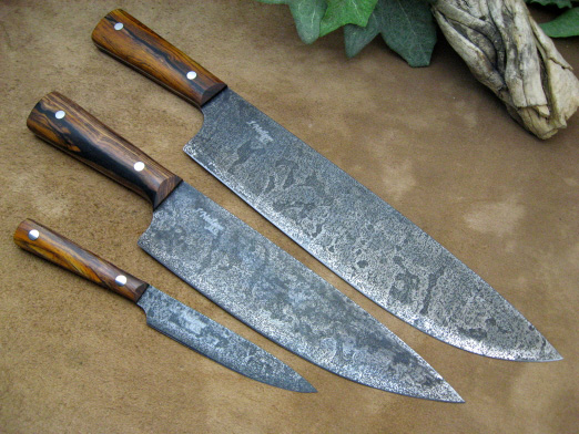kitchen knives by neilson s mountain hollow rh mountainhollow net German Kitchen Knives high carbon stainless steel kitchen knives