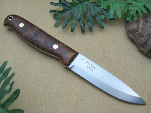 Scandi Bushcraft Knives By Neilson S Mountain Hollow