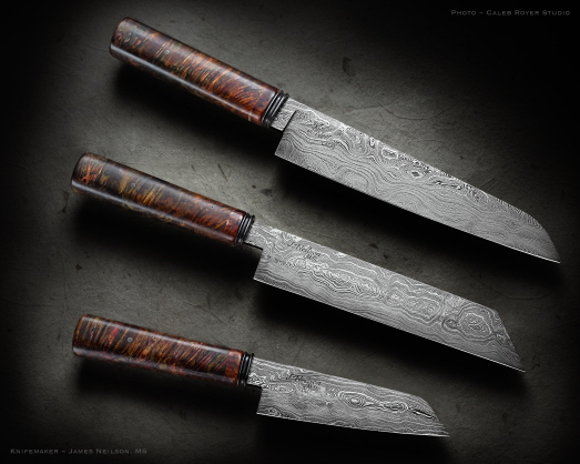 Kitchen Knives By Neilson S Mountain Hollow